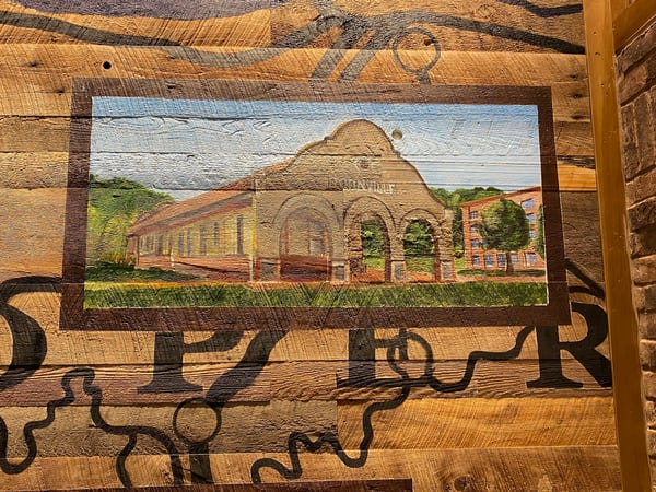 Boonville Train Station  Art | David Spear