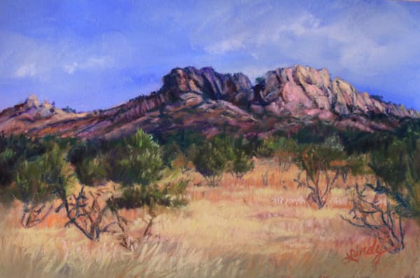 Lindy Cook Severns Art | Heavy Texas Sky, signed edition