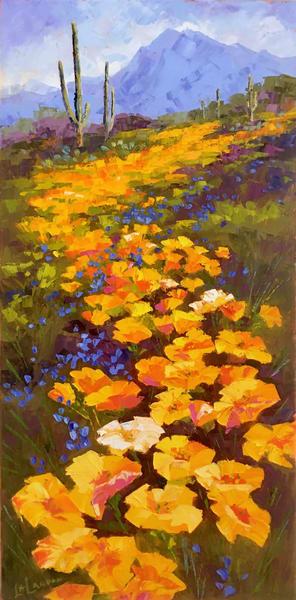 Follow The Poppy Trail Art | Linda Star Landon Fine Art