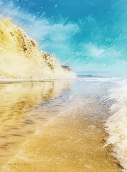 Torrey Pines Empty Beach