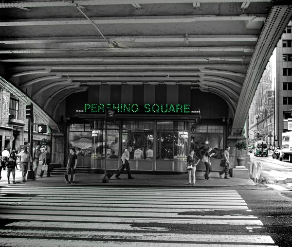 Pershing Square Photography Art | martinalpert.com