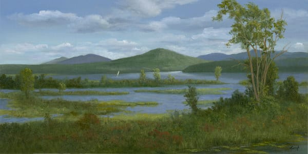 *Windy Afternoon, Tupper Lake* Art | Tarryl Fine Art