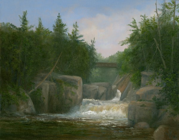 *The Flume, Adirondacks* Art | Tarryl Fine Art