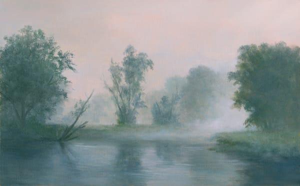 *Lingering Mist  Saranac River, Adirondacks* Art | Tarryl Fine Art