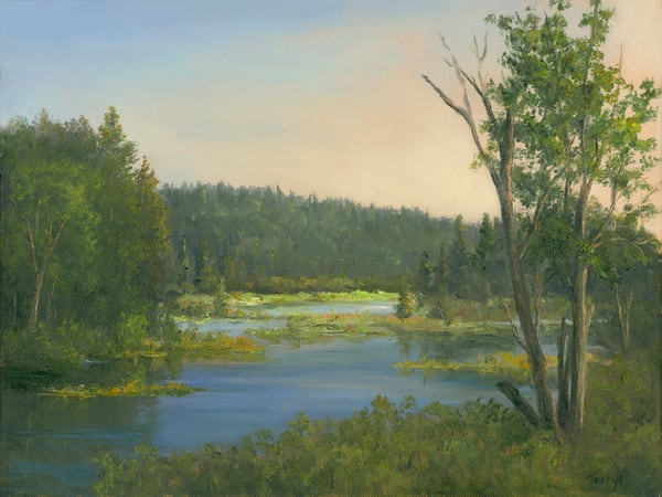 *On The Road To Tupper Lake* Art | Tarryl Fine Art
