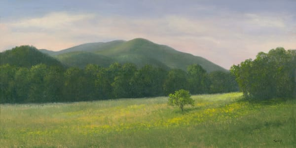 *Heavenly Hill Farm Mountain Vista* Art | Tarryl Fine Art