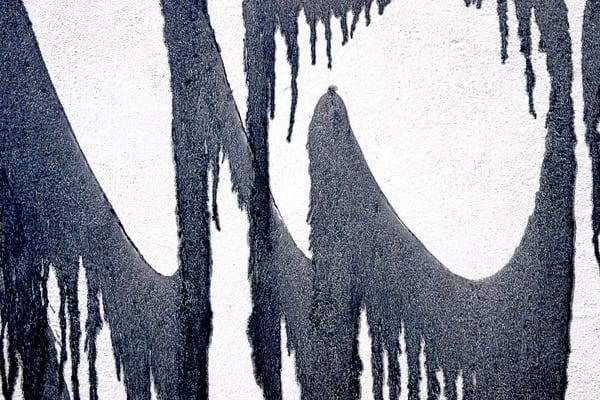 Elegant Abstract Florence Graffiti Print - Sherry Mills