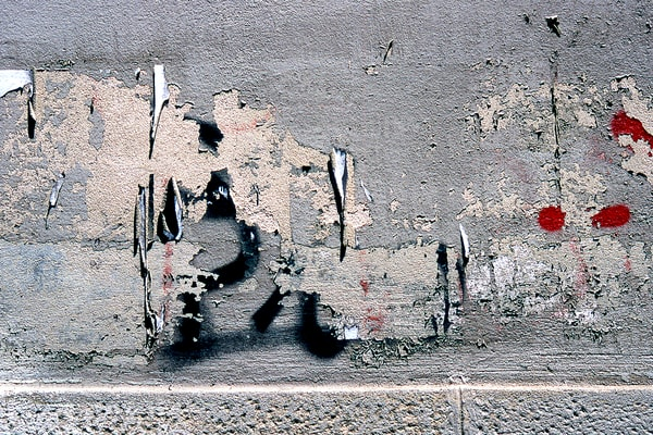Subtle Wall Graffiti In Florence Photography - Sherry Mills