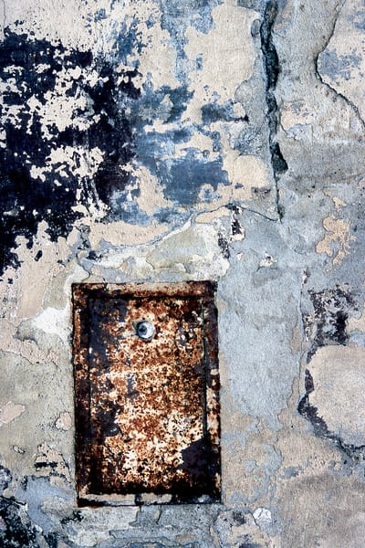 Tuscan Abstract Wall Detail Photography - Sherry Mills