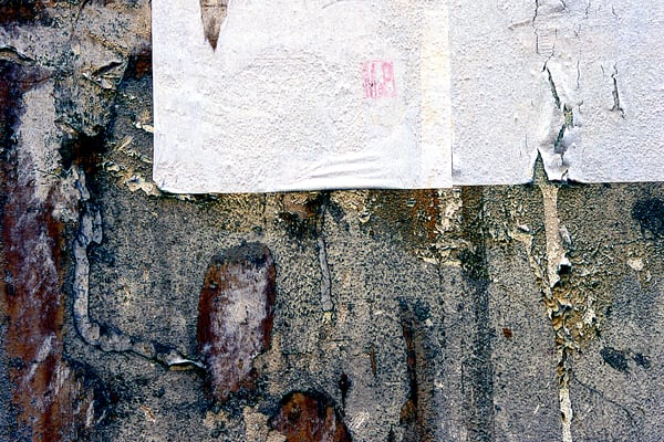 Weathered Florence Wall Abstract Photography - Sherry Mills