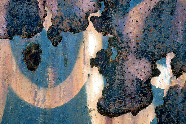 Close-Up Rusty Manhattan Wonder Print - Sherry Mills