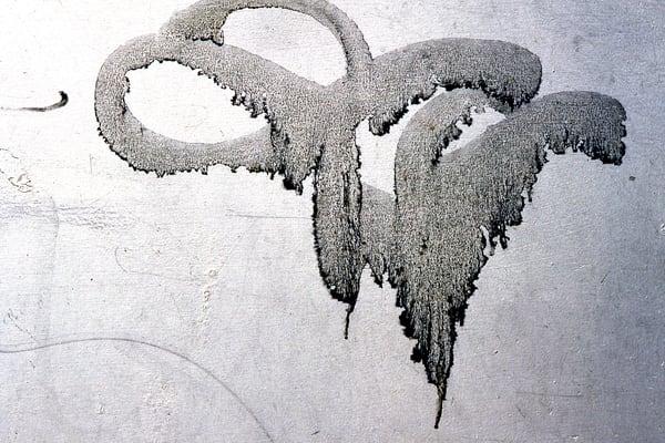 Accidental Calligraphy NYC Graffiti Print - Sherry Mills