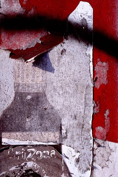 Eroding Abstract Arizona Ad Fine Art Print – Sherry Mills