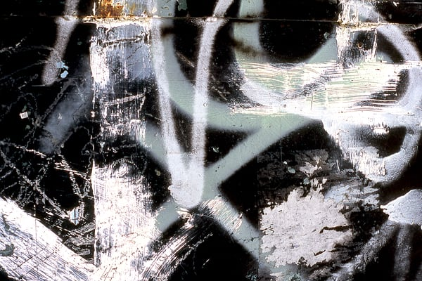 Dramatic Abstract Dumpster Close-Up Print - Sherry Mills