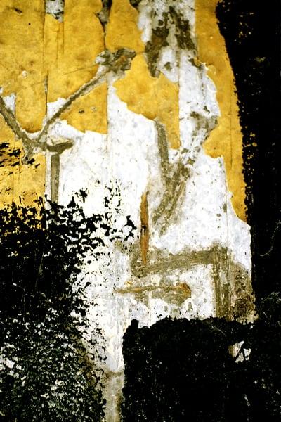 Abstract Yellow Black Manhattan Subway Print – Sherry Mills