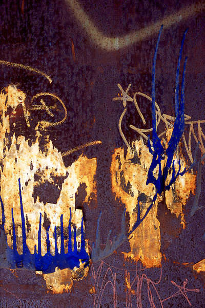 Dumbo Monster Abstract Spray Paint Print – Sherry Mills