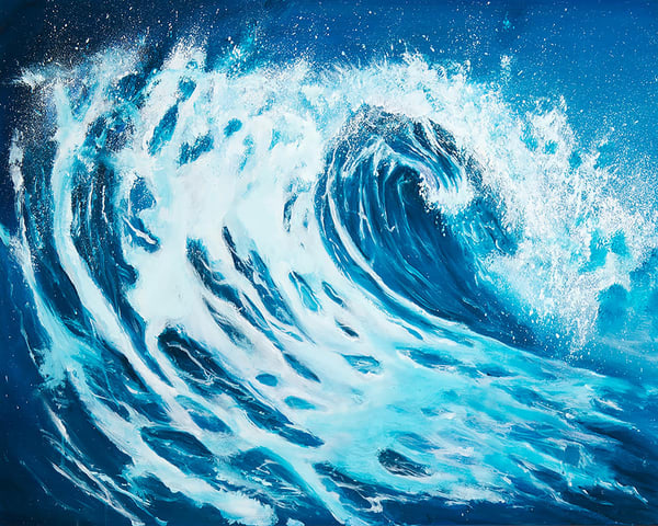Sea Foam Art | Hackley Fine Art