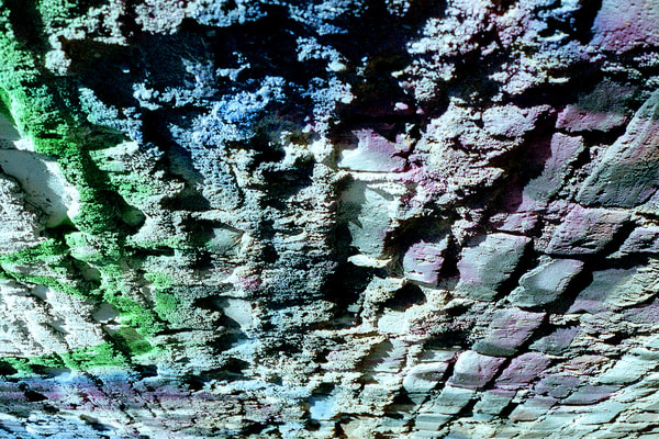 Colorful Brick Wall Abstract NYC Photo Print – Sherry Mills