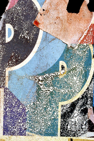 Abstract Letter P Wall Collage Photo Print – Sherry Mills