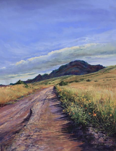Lindy Cook Severns Art | Road to the Heavens, print