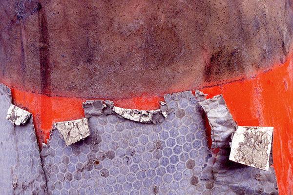 Fish Cone 2 Abstract Orange Photo Print – Sherry Mills