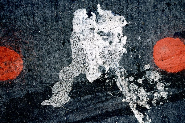 Broadway Dots Abstract NYC Sidewalk Print – Sherry Mills