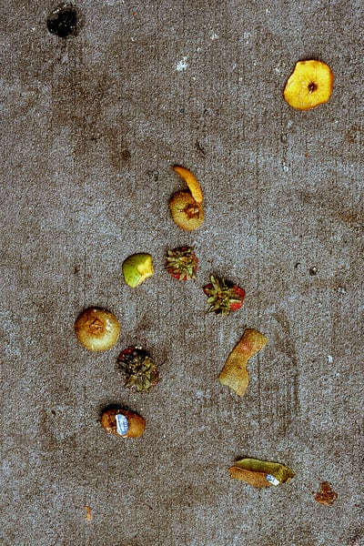 Morning Fruit Abstract Sidewalk Art Print – Sherry Mills