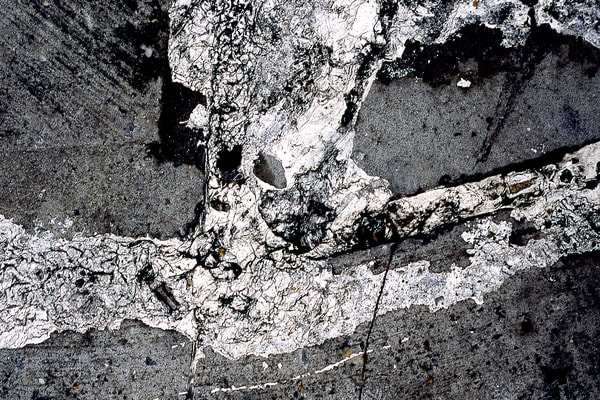 Mulberry Plaster Abstract NYC Sidewalk Print – Sherry Mills