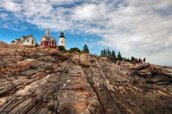 Pemaquid Lighthouse Maine Photography Art | Cardinal ArtWorks LLC