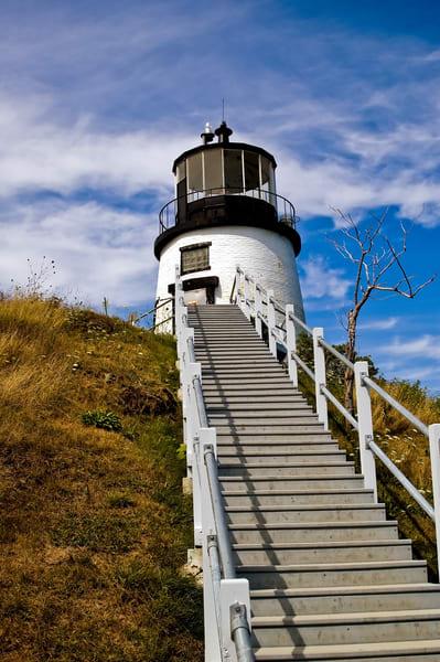 Owls Head Lighthouse Maine Photography Art | Cardinal ArtWorks LLC