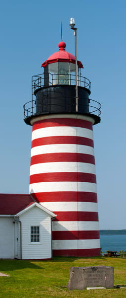 West Quoddy Lighthouse Maine Photography Art | Cardinal ArtWorks LLC