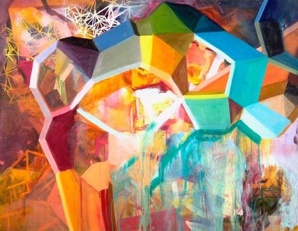 Crystalline Ii Art   Mindbender Art