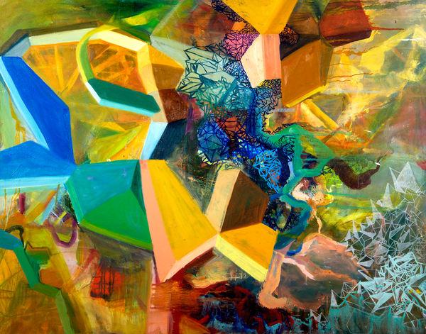 Crystalline I Art   Mindbender Art