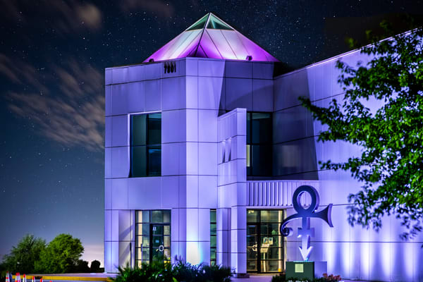 Paisley Park At Night Photography Art | William Drew Photography