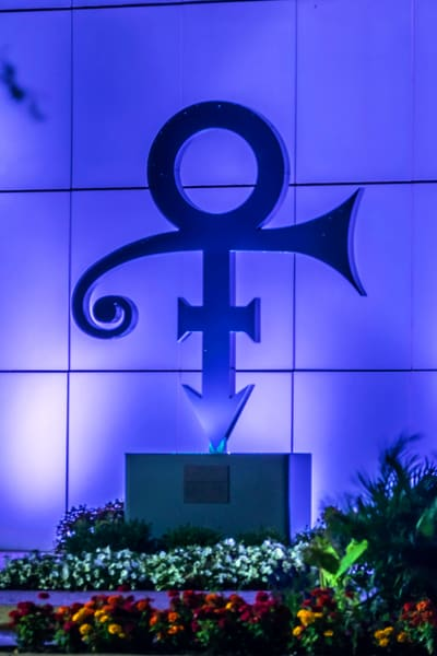 Prince Symbol At Paisley Park Photography Art | William Drew Photography