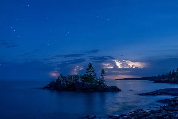 Stars Storms And Hollow Rock Photography Art | William Drew Photography