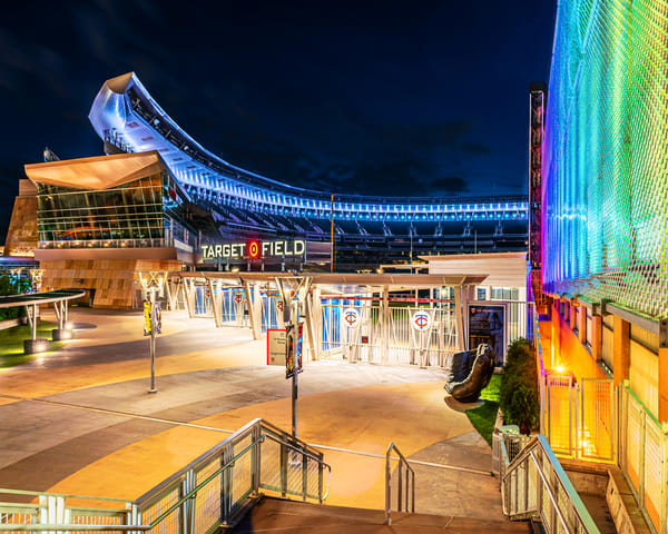 Target Field Pride Photography Art | William Drew Photography