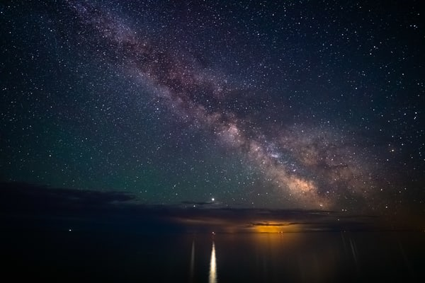 The Milky Way Over Lake Superior June 20 2020 Photography Art | William Drew Photography