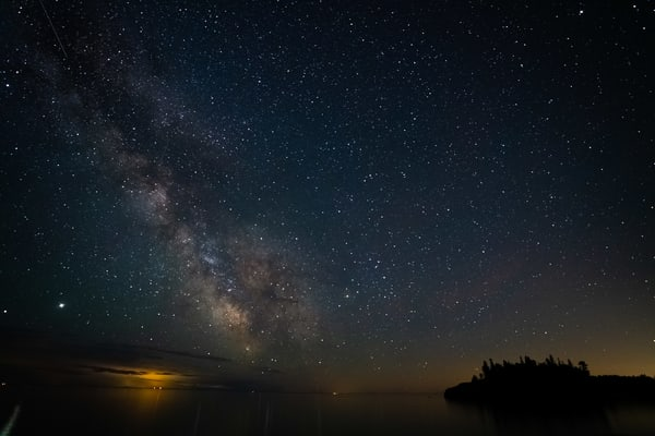 The Milky Way And Ellingson Island June 20 2020 Photography Art | William Drew Photography