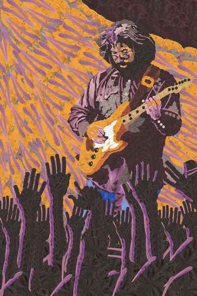 Jerry Garcia Art   smacartist