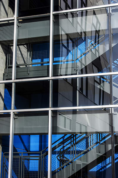 Blue Stairway Art | Cincy Artwork