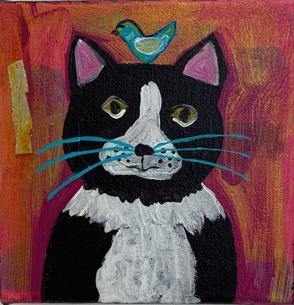 Here, Kitty! Art | Friday Harbor Atelier