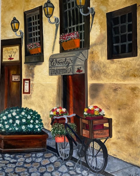 Woosley's Trattoria Custom Only Art | Coat Of Many Colors