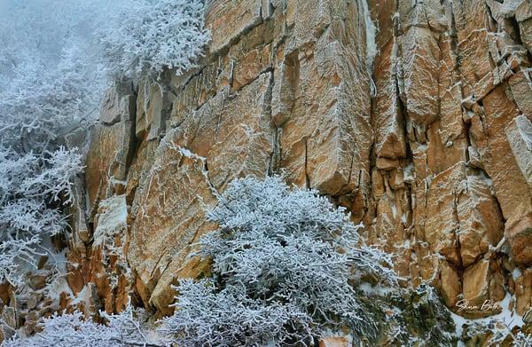 Frosty Cliff Art | Sharon Beth