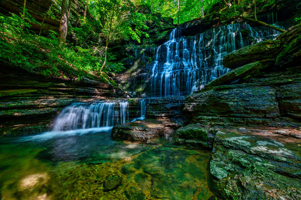Machine Falls - Tennessee waterfalls fine-art photography prints