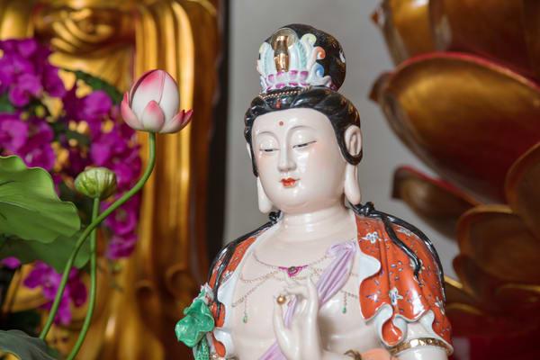 Quan Yin, Buddhist statue in Guilin, China