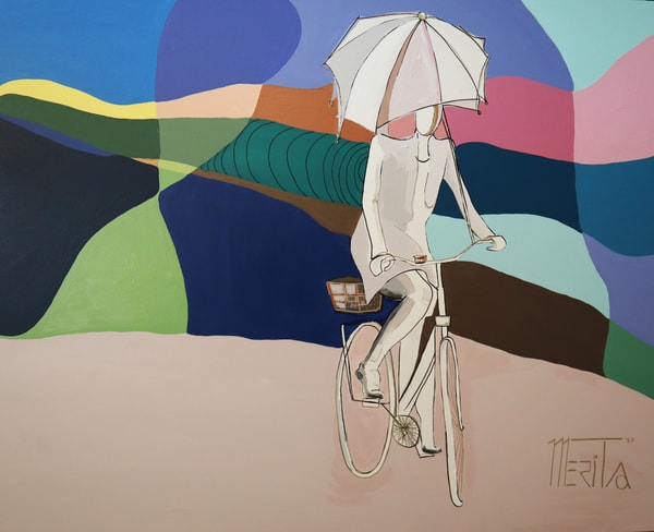 Pilgrimage Of Color Art   Merita Jaha Fine Art