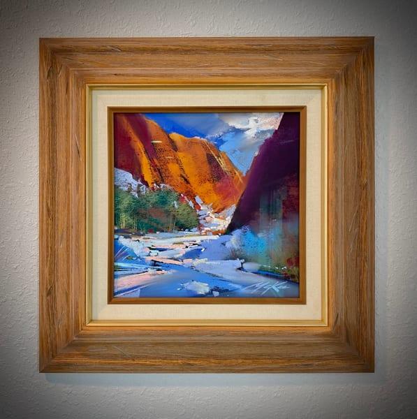 Winter Canyon Light Art   Michael Mckee Gallery Inc.