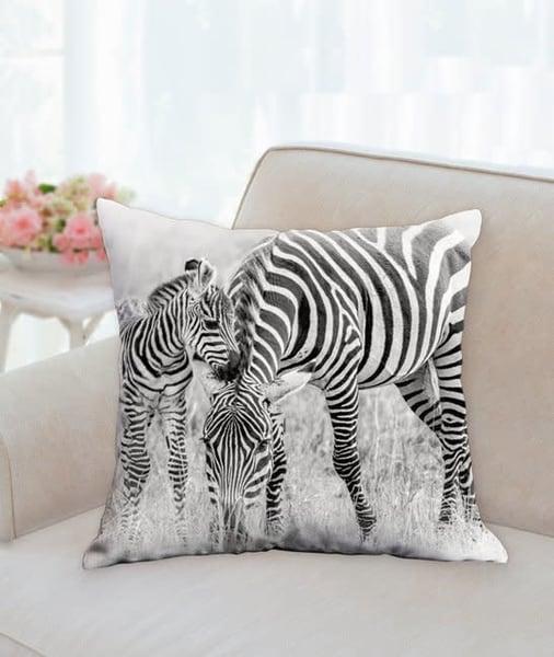 Pillow   Stripes B&W | Carol Brooks Parker Fine Art Photography