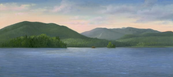 *Sunrise Over Ossetah Lake*  Art | Tarryl Fine Art